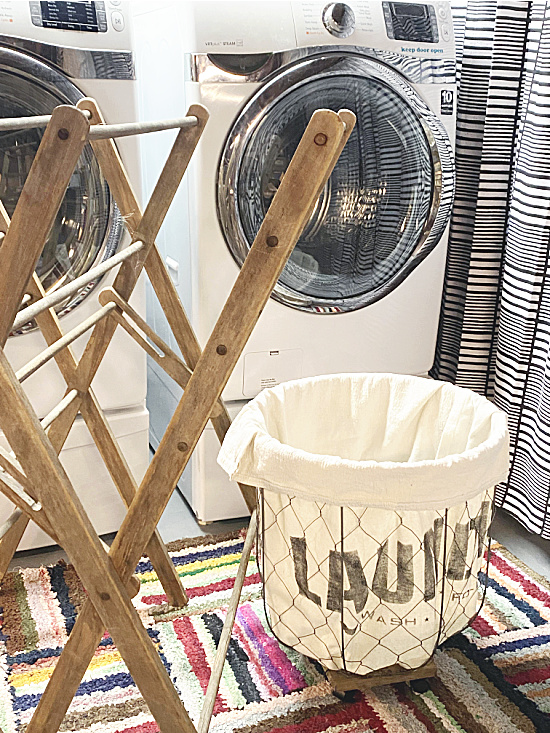 DIY rolling laundry bin by Homeroad, featured on New Upcycled Projects to Make 596