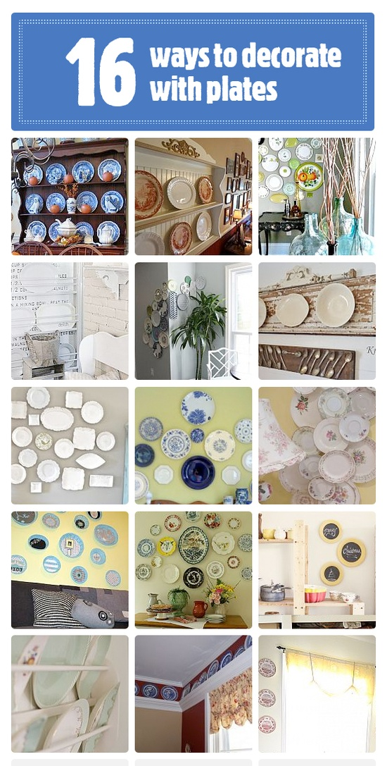 16_ways_to_decorate_with_plates_via_HomeTalk_featured_on_Funky_Junk_Interiors