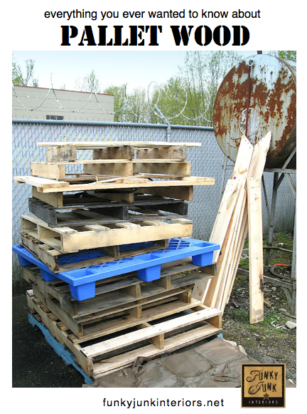 Is Pallet Wood safe? And everything else you want to know, via Funky Junk Interiors
