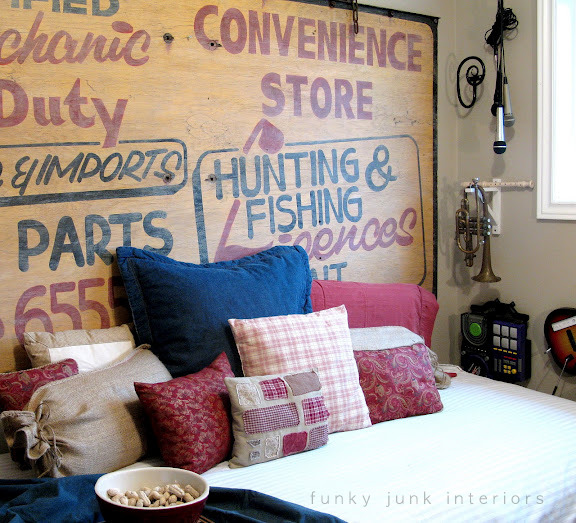 old_sign_for_a_headboard_via_Funky_Junk_Interiors