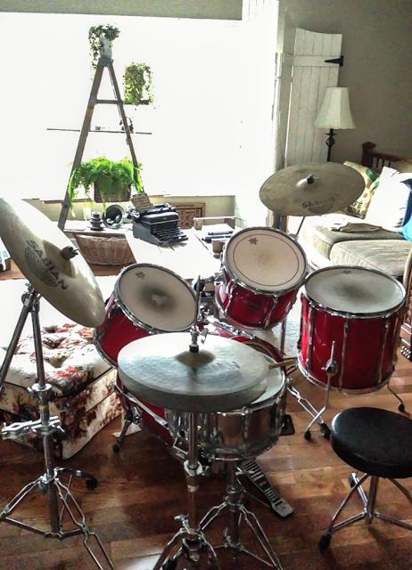 Pearl_drum-set