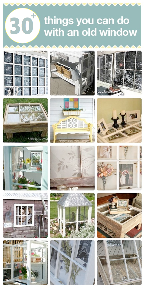 30 DIY projects you can do with an old window, on Hometalk, featured by Funky Junk Interiors