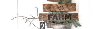 Pallet wood You Cut Tree Farm Christmas sign