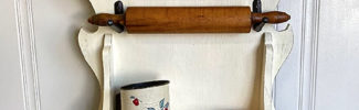 rolling pin spoon holder display