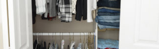 How to build an easy clothes closet from a $50 kit!